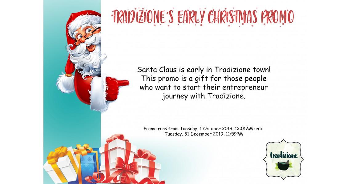 Early Christmas Promo