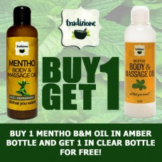 Mentho Body and Massage Oil (Buy 1, Take 1)