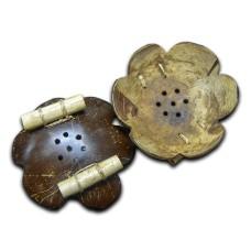 Natural Coconut Shell Soap Dish
