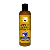 Violet Body and Massage Oil