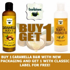 Caramella Body and Massage Oil (Buy 1, Take 1)